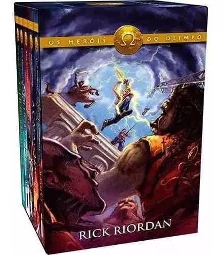 Box os heróis do olimpo coleção (5 livros) - percy