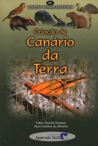 Criação de canário da terra coleção animais silvestres