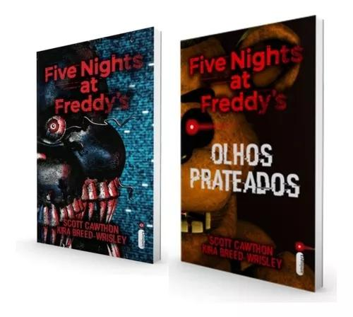 Five nights at freddys olhos prateados & os distorcidos fnaf