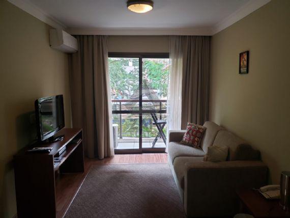 Flat com 1 quarto à venda, 42 m² por r$ 470.000 cod. 1098