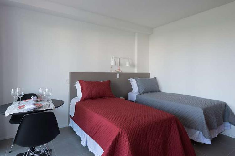 Flat com 1 quarto para alugar, 30 m² por r$ 2.150/mês cod.