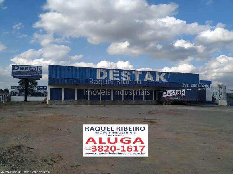 Galpão/depósito/armazém para alugar, 2110 m² por r$