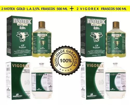 Ivotex 3,5% longa ação gado bovinos eficaz carrapatos