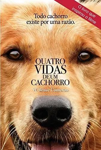 Livro 4 vidas de um cachorro