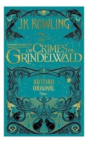 Livro Animais Fantásticos:os Crimes De Grindelwald Capa