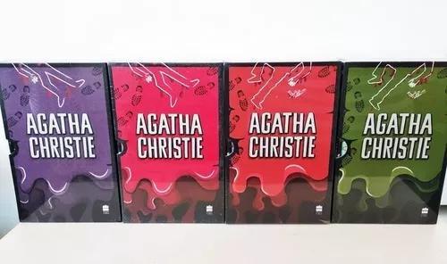Livro coleção agatha christie (box 1, 2, 3 e 4) lacrados