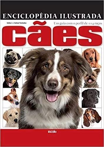 Livro enciclopédia ilustrada - cães - capa dura