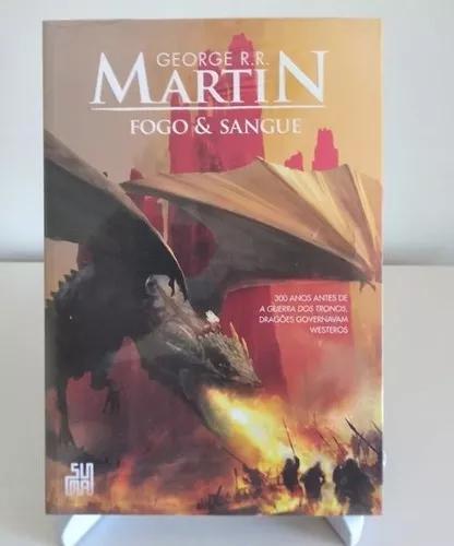 Livro - fogo & sangue (george r.r. martin) lacrado