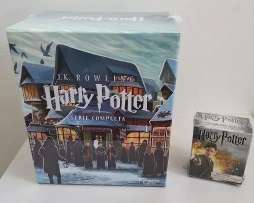 Livro harry potter coleção série completa 7 livros +