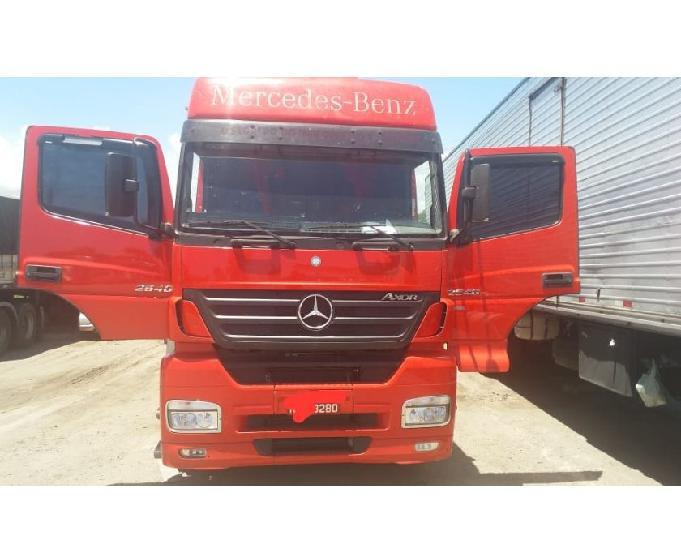 Mercedes benz 2540 6*2 ano 2010