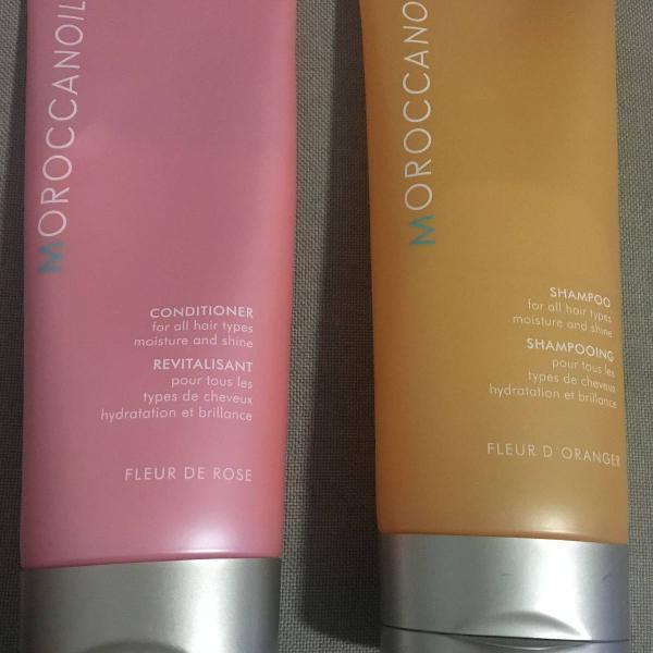 Moroccanoil shampoo e condicionador top