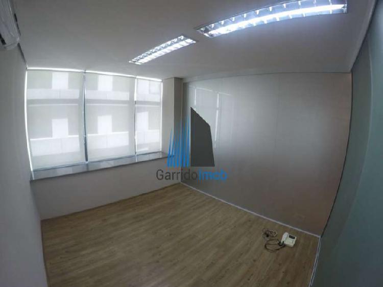 Sala comercial para alugar, 110 m² por r$ 8.000/mês cod.