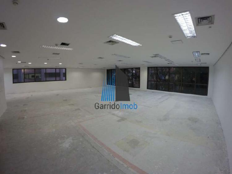 Sala comercial para alugar, 251 m² por r$ 13.500/mês cod.