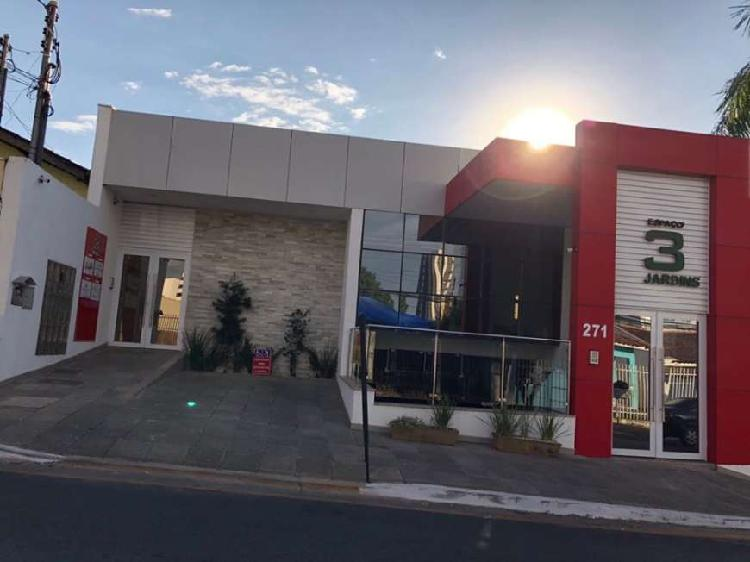 Sala comercial para alugar, 33 m² por r$ 1.560/mês cod.