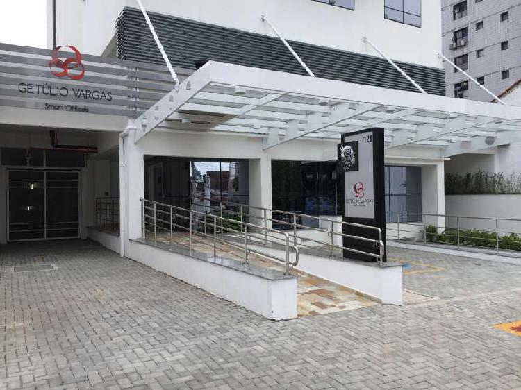 Sala comercial para alugar, 33 m² por r$ 1.930/mês cod.