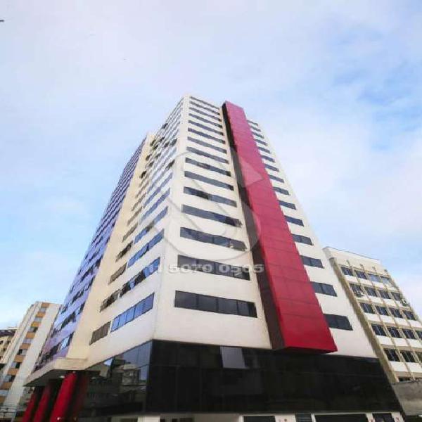 Sala comercial para alugar, 42 m² por r$ 2.200/mês cod.