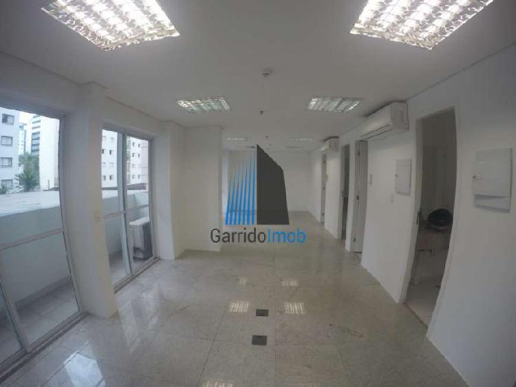 Sala comercial para alugar, 64 m² por r$ 4.480/mês cod.