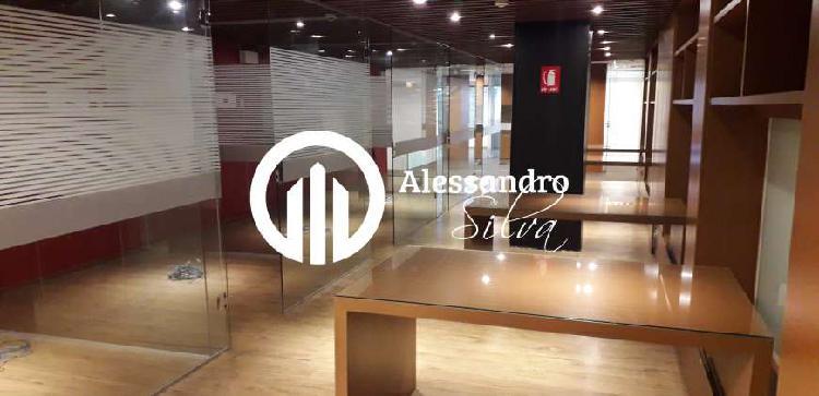 Sala comercial para alugar, 896 m² por r$ 60.000/mês cod.