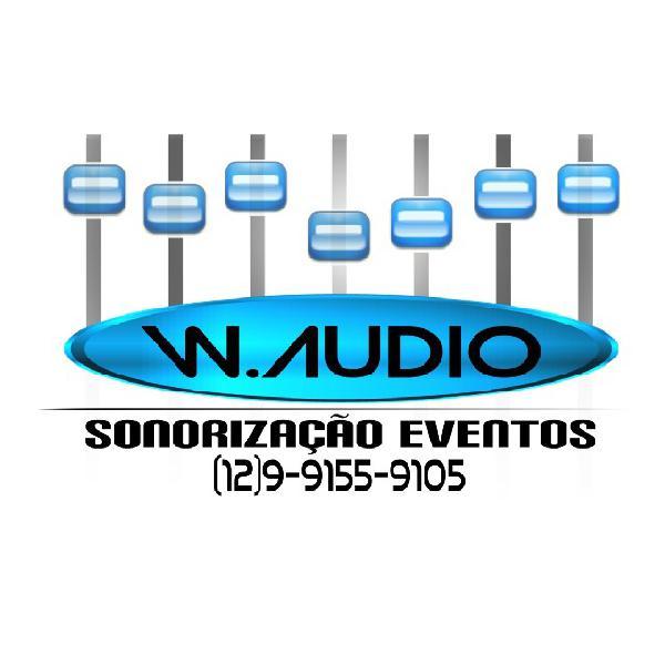 W audio sonorização eventos e dj wander guedes