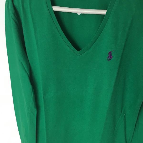 Blusa verde ralph lauren