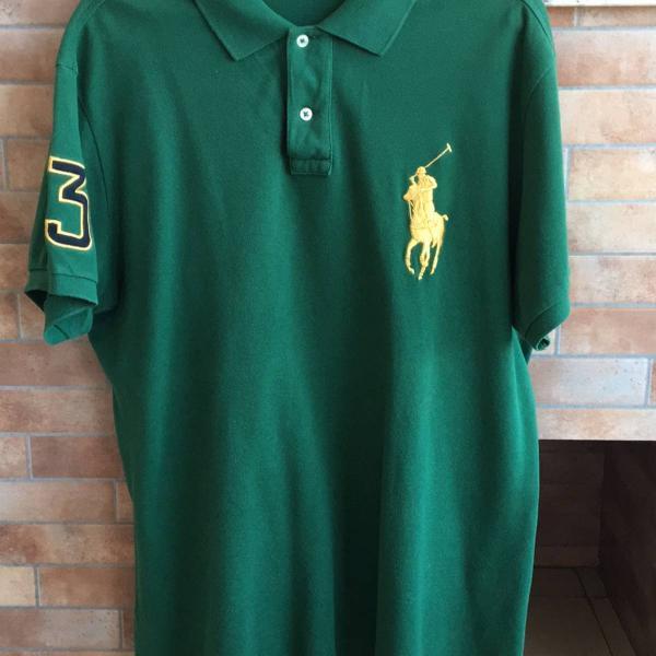 Camisa polo ralph lauren masculina