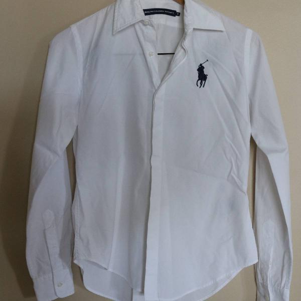 Camisa social feminina ralph lauren