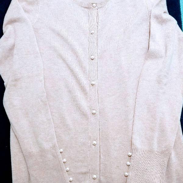 Casaquinho de lã zara