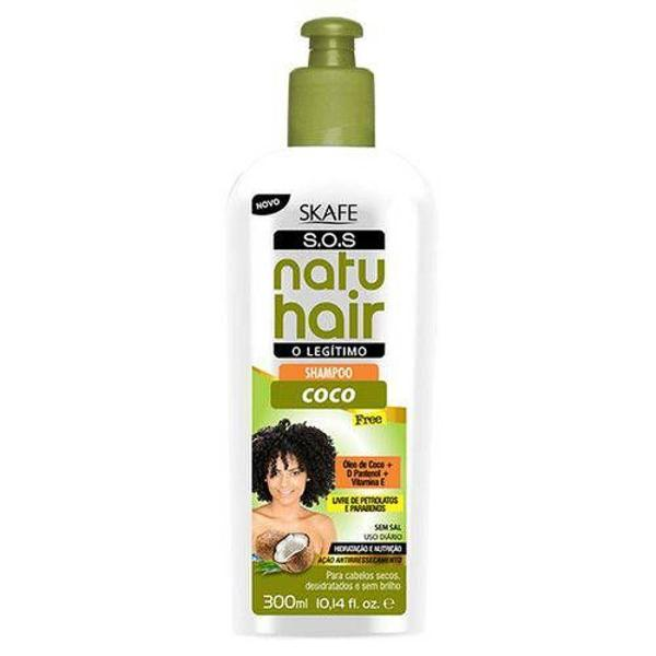 Kit shampoo + condicionador coco free s.o.s natu hair