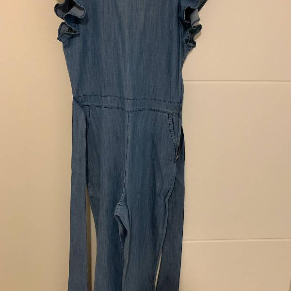 Macacao jeans maria filo