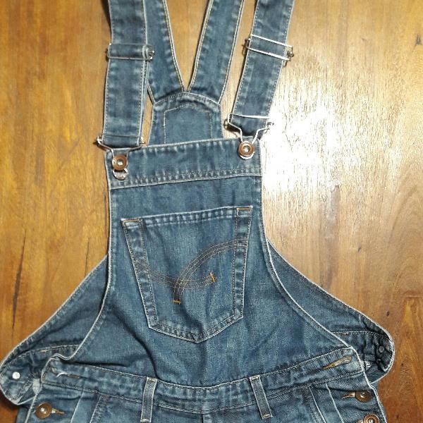 Macacão jeans damyller