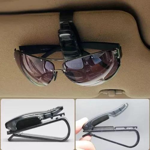 3 porta óculos veículos suporte quebra sol para óculos