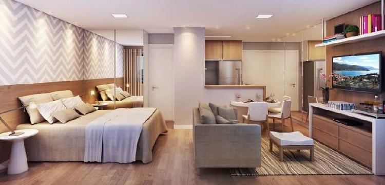Apartamento com 1 quarto à venda, 26 m² por r$ 190.000
