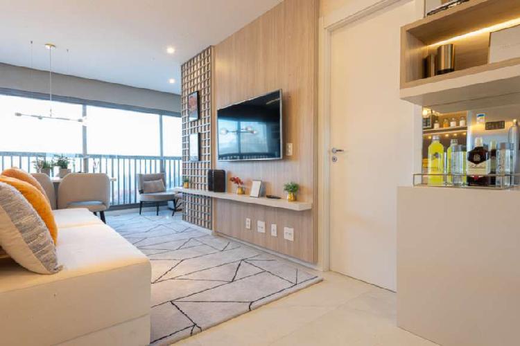 Apartamento com 1 quarto à venda, 50 m² por r$ 600.000