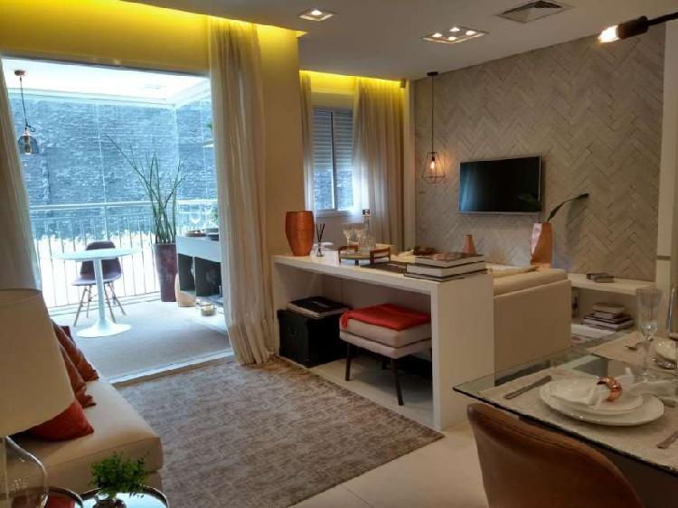 Apartamento com 2 quartos à venda, 49 m² por r$ 445.000