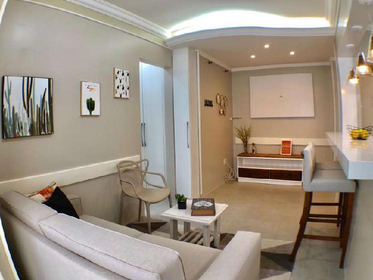 Apartamento com 2 quartos à venda, 58 m² por r$ 279.000