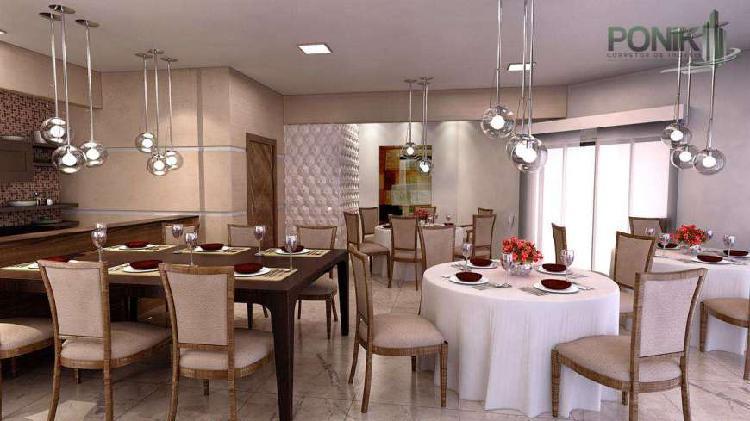 Apartamento com 2 quartos à venda, 91 m² por r$ 175.449