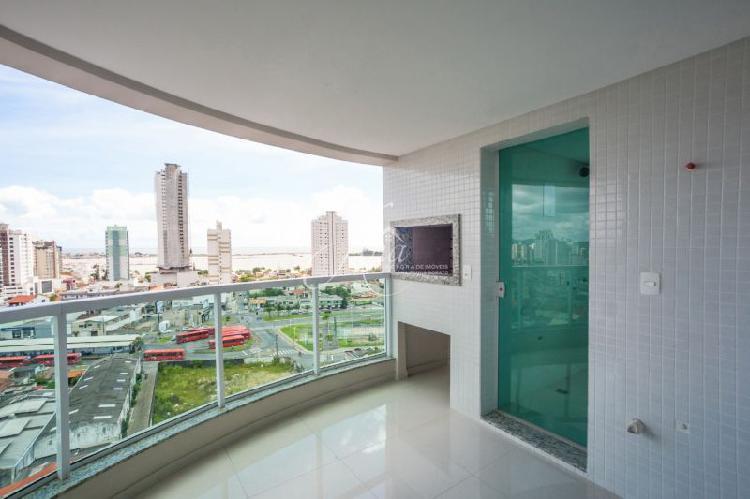 Apartamento com 3 quartos à venda, 106 m² por r$ 618.000