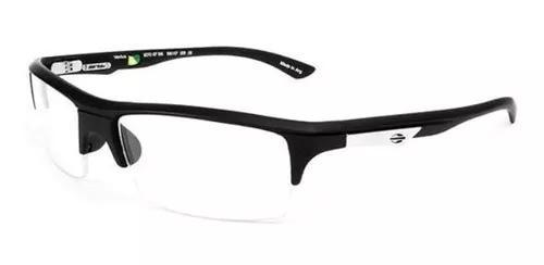 Armação oculos grau mormaii ventus 127011756 preto fosco