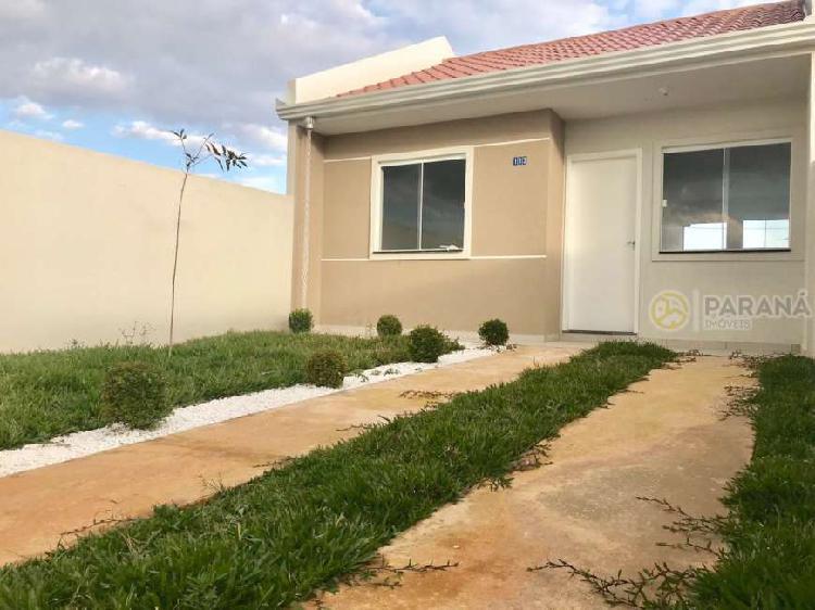 Casa com 2 quartos à venda, 55 m² por r$ 139.000 cod. 322
