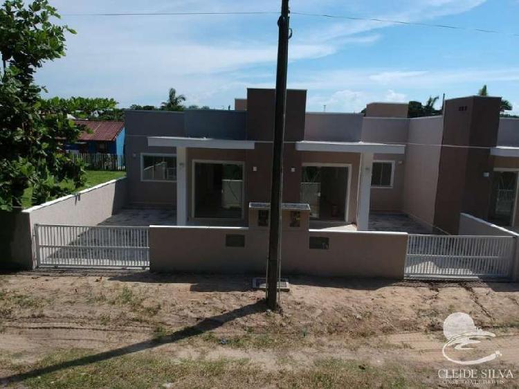 Casa com 2 quartos à venda, 73 m² por r$ 166.000 cod.