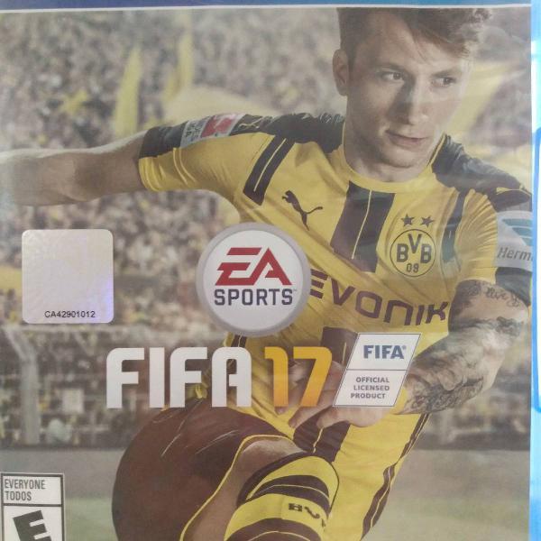 Fifa 17 jogo de playstation 4 usado