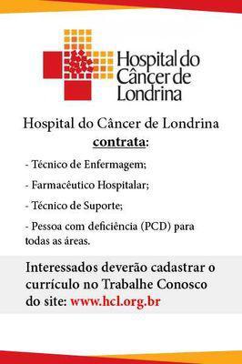 Hospital do câncer de londrina contrata