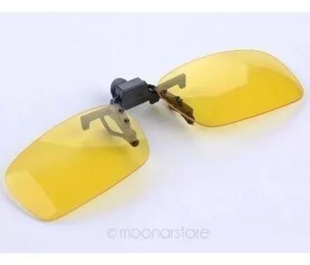 Lentes clip on polarizadas para óculos - proteção uv400