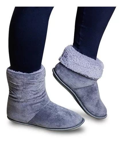 Pantufa bota polar f/m super confortável e durável
