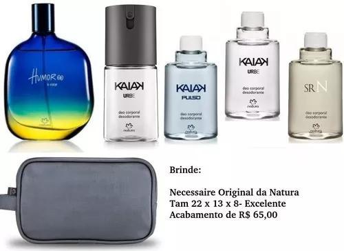 Promoção kit natura colonia humor + 4 produtos + brinde