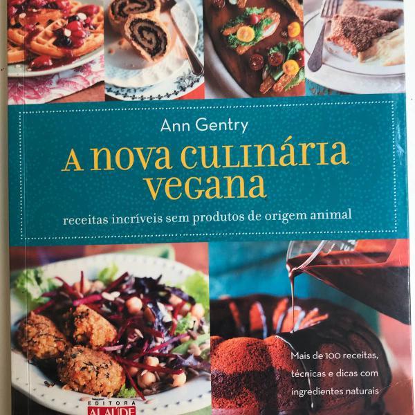 A nova culinária vegana