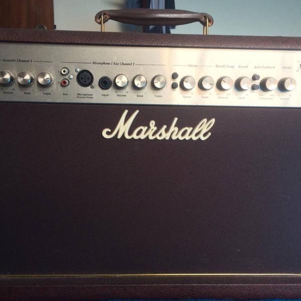 Amplificador marshall as50d r$ 1.800,00