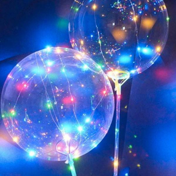 Balões de led kit com 10 unidades