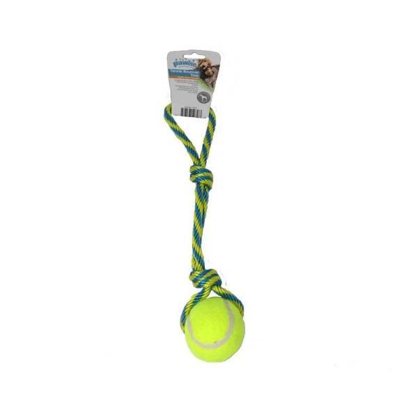Bola tênis arremesso corda