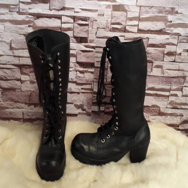 Botas coturno vilela boots